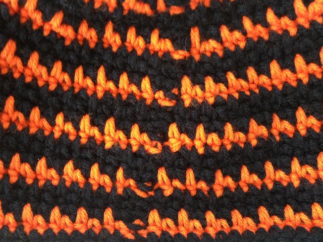crochet hat crochet beanie crochet seam