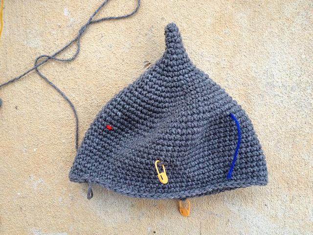 vintage yarn, crochetbug, yarn stash crochet helmet, assyrian crochet helmet, crochet beanie, crochet hat, crochet cap