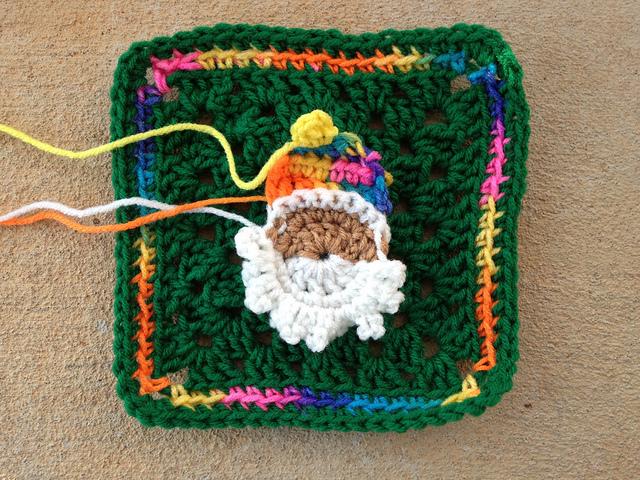 second crochet santa head