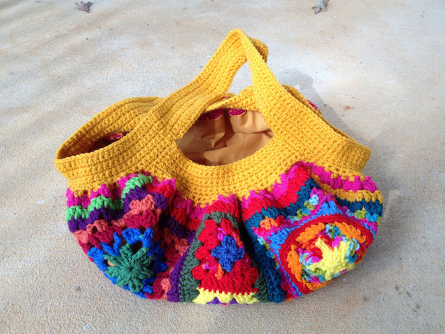 crochet bag without a button