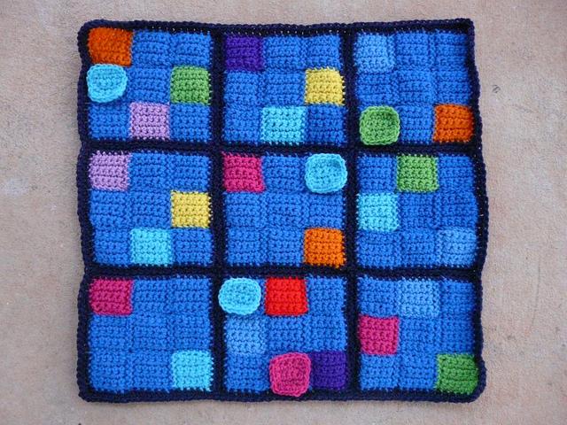 crochet sudoku puzzle