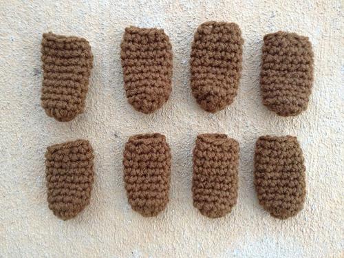 Eight chair leg socks