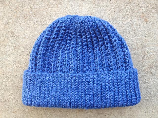seafarer's crochet cap