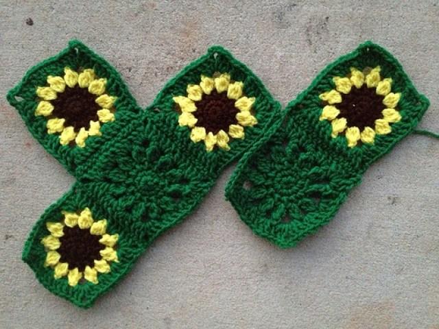 six crochet squares, crochetbug, crochet flowers, crochet flower, crochet square, crochet blanket, crochet afghan, crochet throw