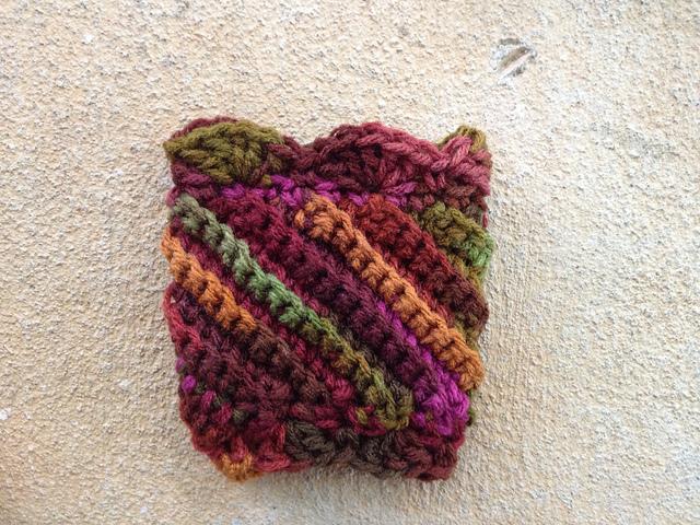coffee cup crochet cozy
