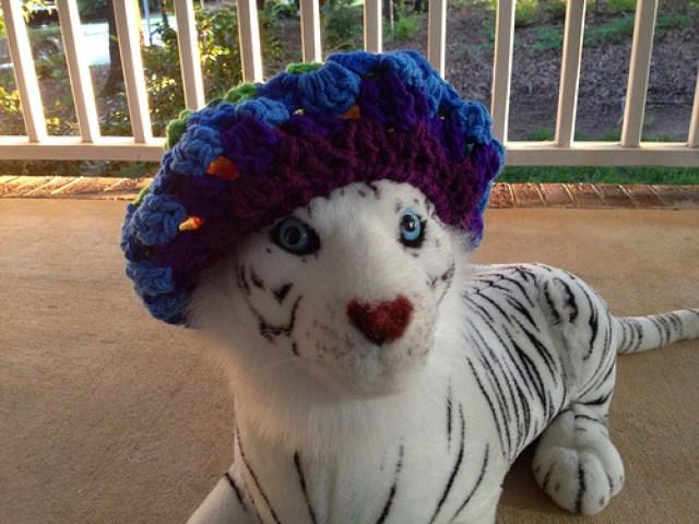 granny crochet beret