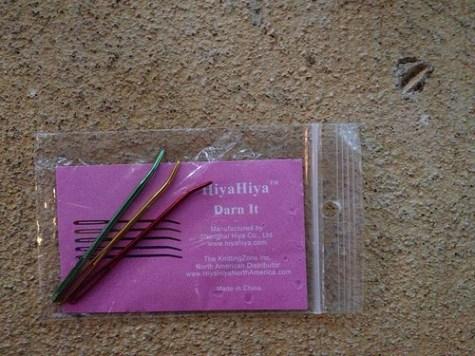 Hiya Hiya™ darning needles
