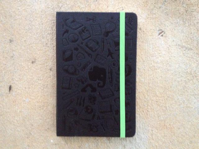 evernote moleskine notebook