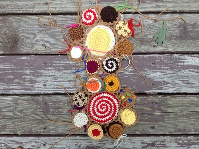 crochet cookie crochet blanket
