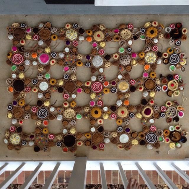 Five more crochet motifs