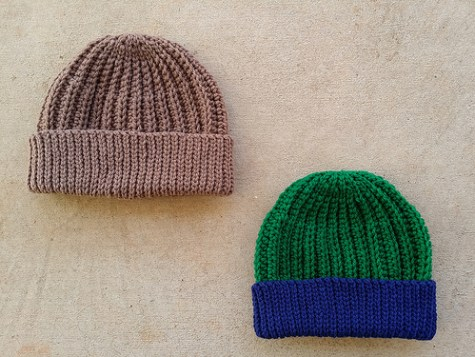 Two seafarer's hats