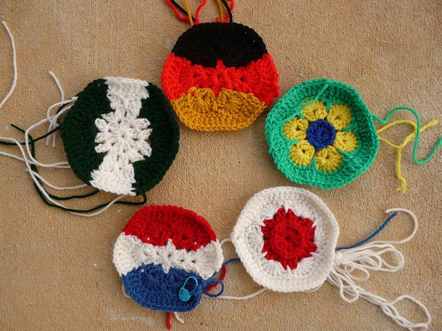 crochet hexagons crochet soccer ball world cup 2014