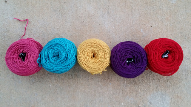 wool yarn for crochet flowers
