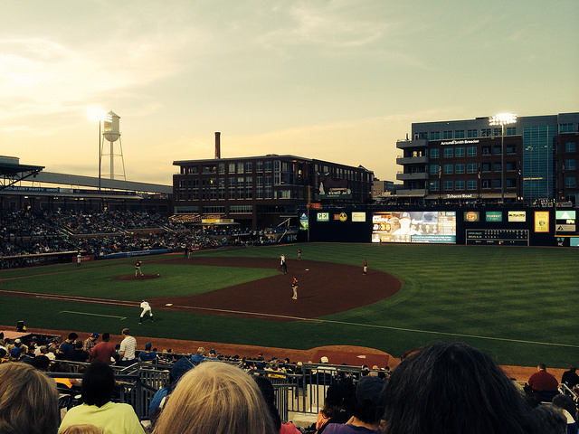 Stitch and Pitch 2014 at Durham Bulls Athletic Park, Durham, North Carolina