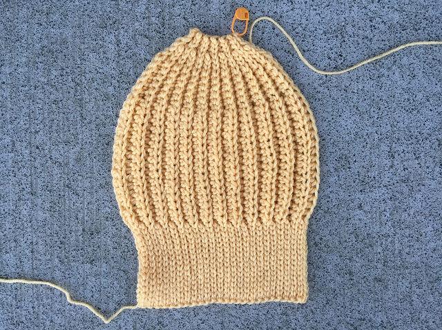 cornmeal seafarer's crochet cap