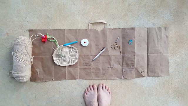 crochet drawing board