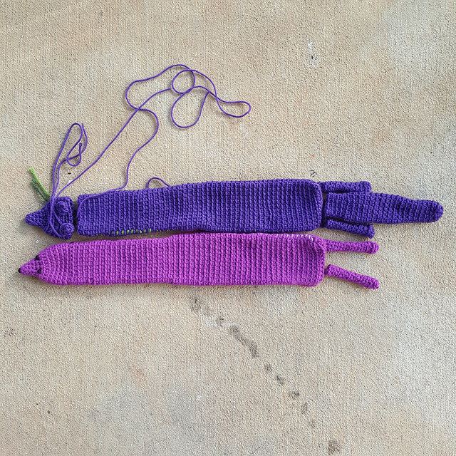 two crochet minks crochet vinx for a crochet mink stole