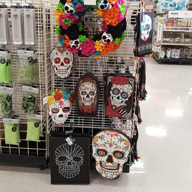 crochetbug, crochet, granny square, day of the dead, Dia de los Muertos , crochet skull