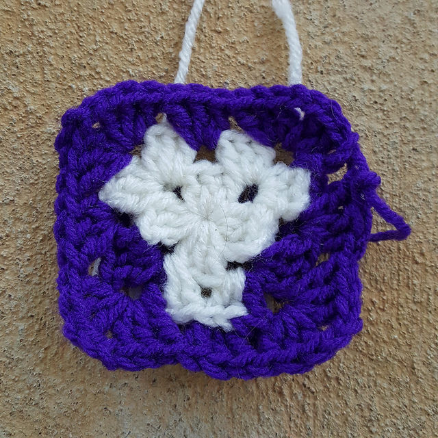 crochetbug, crochet, granny square, day of the dead, Dia de los Muertos , crochet skull