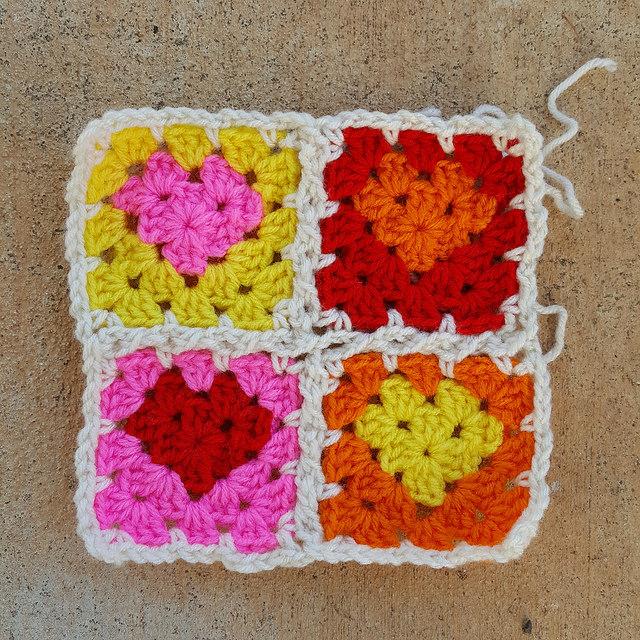 crochet granny square Archives - Crochetbug