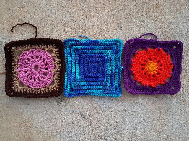 crochetbug, crochet, crochet afghan, crochet squares, 101 crochet squares, jean leinhauser, project amigo, crochet afghan, crochet blanket, crochet throw, crochet flower
