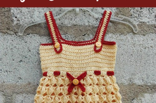 Honey Bliss Baby Sundress - free crochet pattern