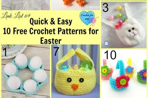 Quick & Easy 10 Free Crochet Patterns for Easter