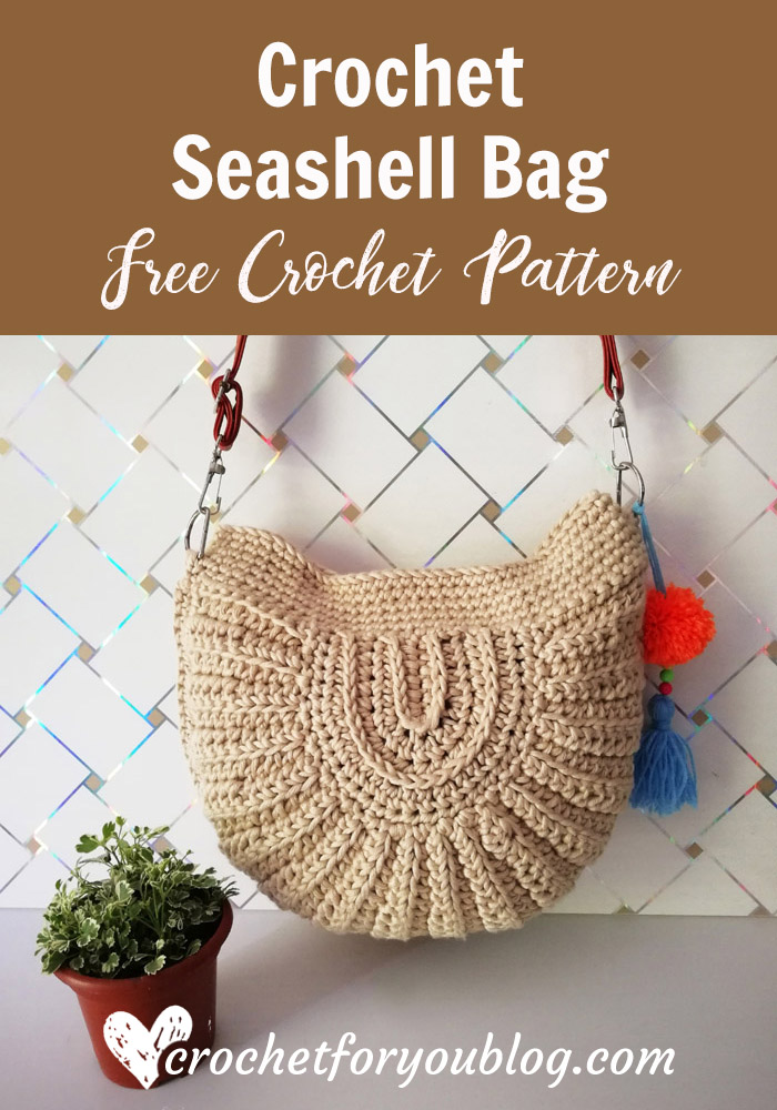 Crochet Seashell Bag Free Pattern
