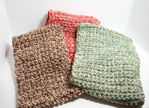 Crocheted Scarf Using Woven Stitch (bulky)