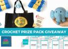 Crochet Prize Pack Giveaway-September 2017