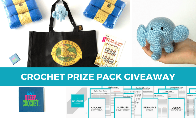 Crochet Prize Pack Giveaway – Enter Today!