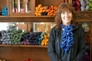 Charlene Hatfield at Stitch in Time Shop