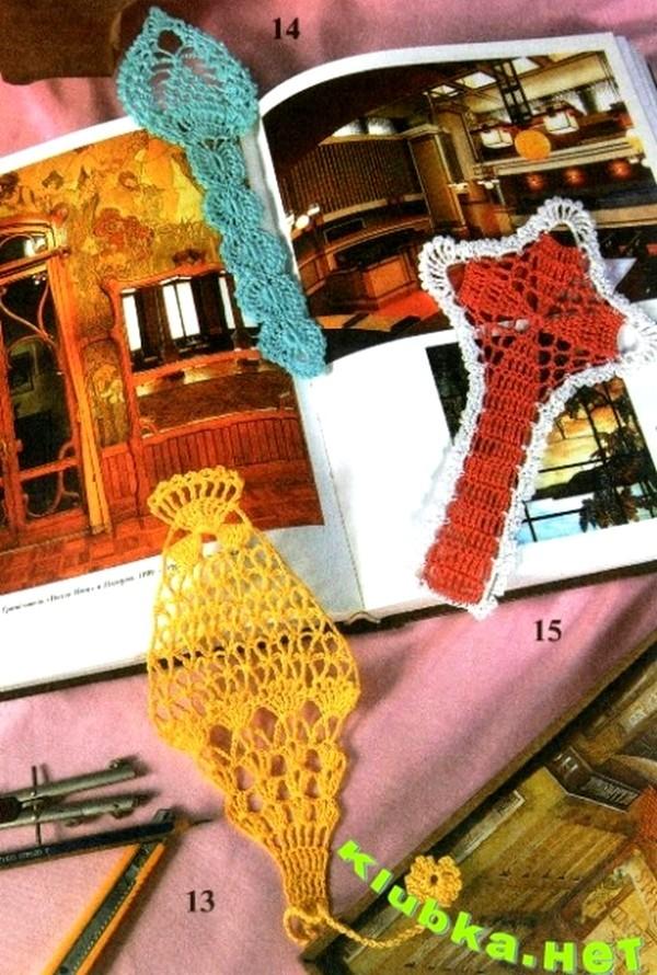 Crochet Bookmarks ⋆ Crochet Kingdom 3 Free Crochet Patterns