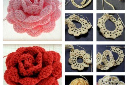 Crochet Rose Flower Beautiful Flowers 2019 Beautiful Flowers