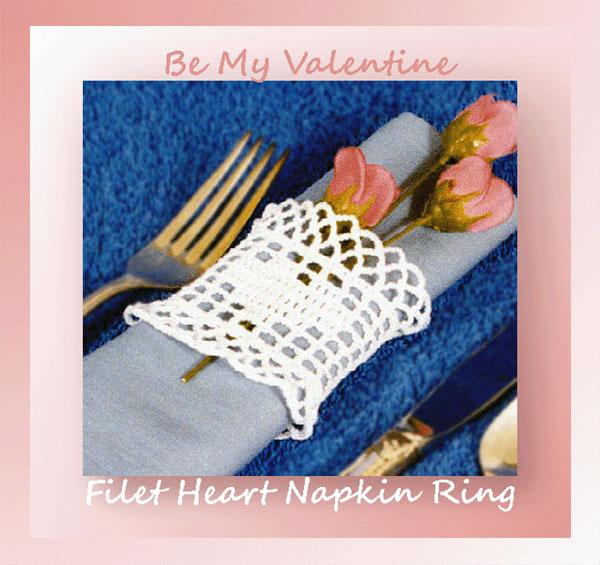 Filet Heart Napkin Ring