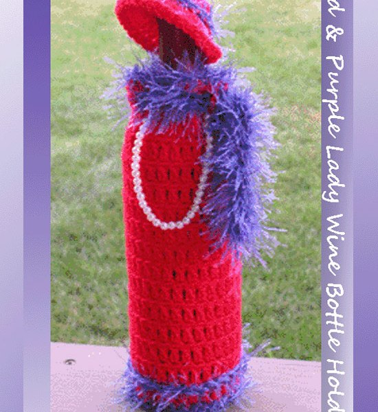 Crochet Special Occasion Patterns Crochet Red Hat Society Patterns