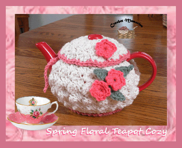 Spring Floral Teapot Cozy