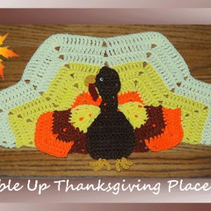 Gobble Up Thanksgiving Placemat