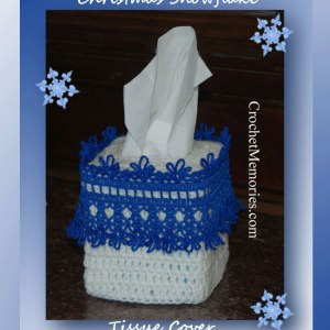 Christmas Snowflake Tissue Cover