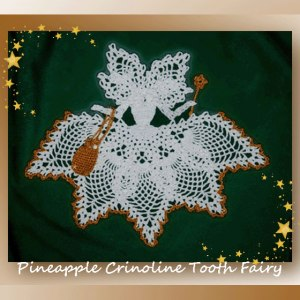 Pineapple Crinoline Tooth Fairy
