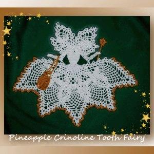Pineapple Crinoline Tooth Fairy