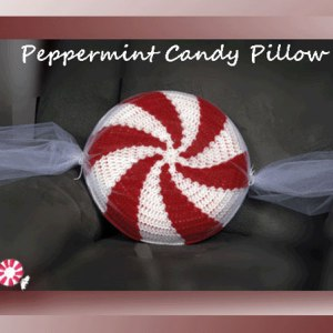 Peppermint Candy Pillow