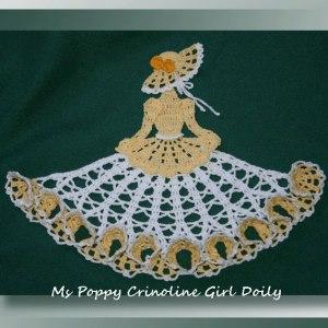 Ms Poppy Crinoline Girl Doily