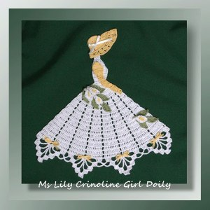 Ms Lily Crinoline Girl Doily