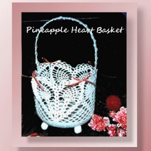 Pineapple Heart Basket