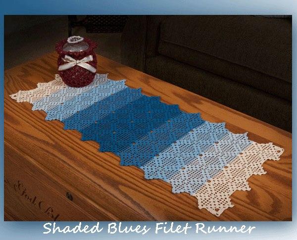 Shaded Blues Filet Runner