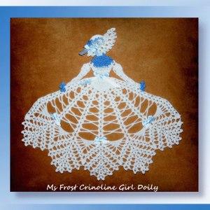 Ms Frost Crinoline Girl Doily