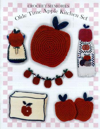 Olde Time Apple Kitchen Set Pattern Booklet