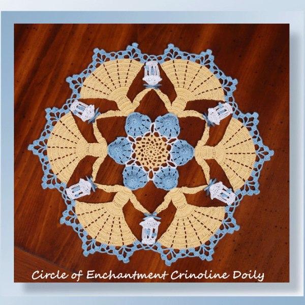 Circle of Enchantment Crinoline Doily