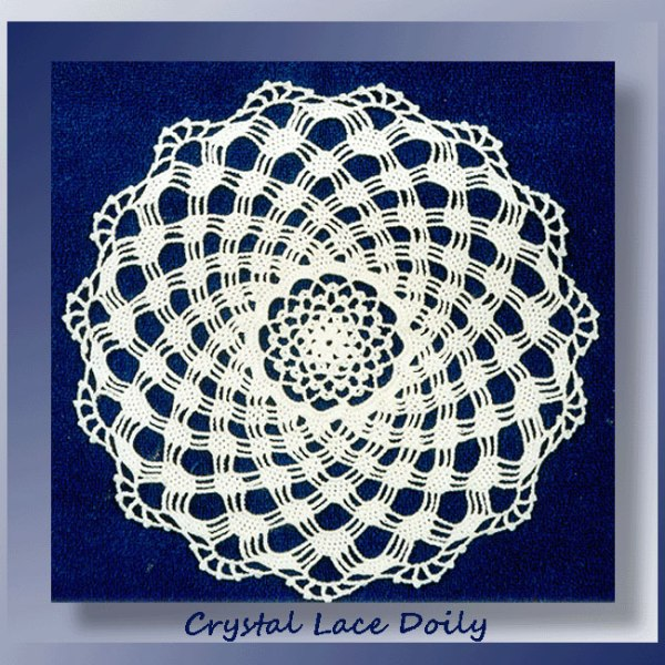 Crystal Lace Doily